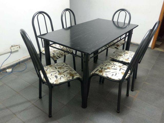Mesa 6 cadeiras mega promoção - Foto 2