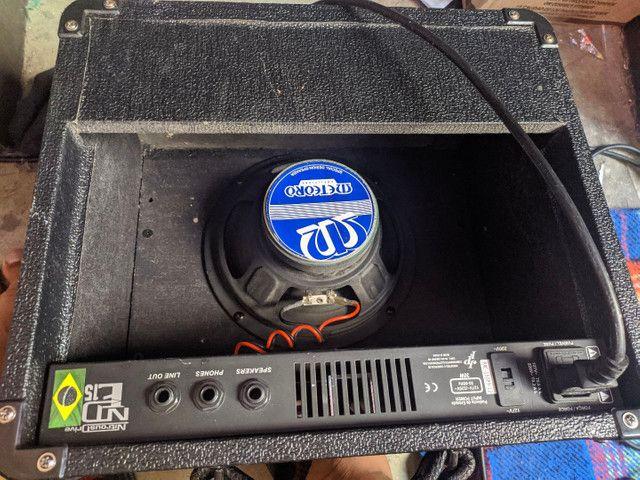Amplificador meteoro nde15  - Foto 3