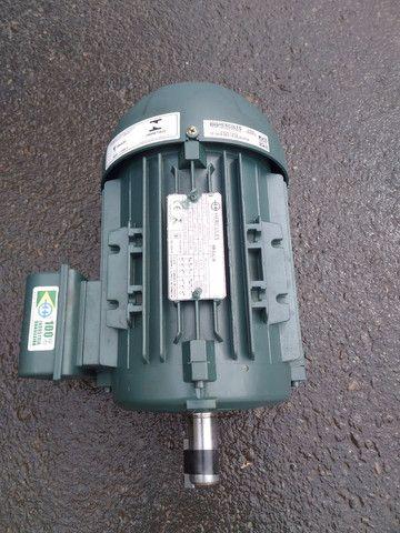 Motor trifásico novo sem uso na caixa - Foto 2