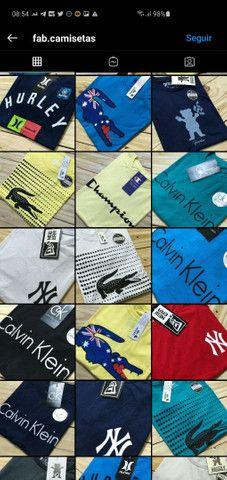 Camisetas no padrão shopping - Foto 2