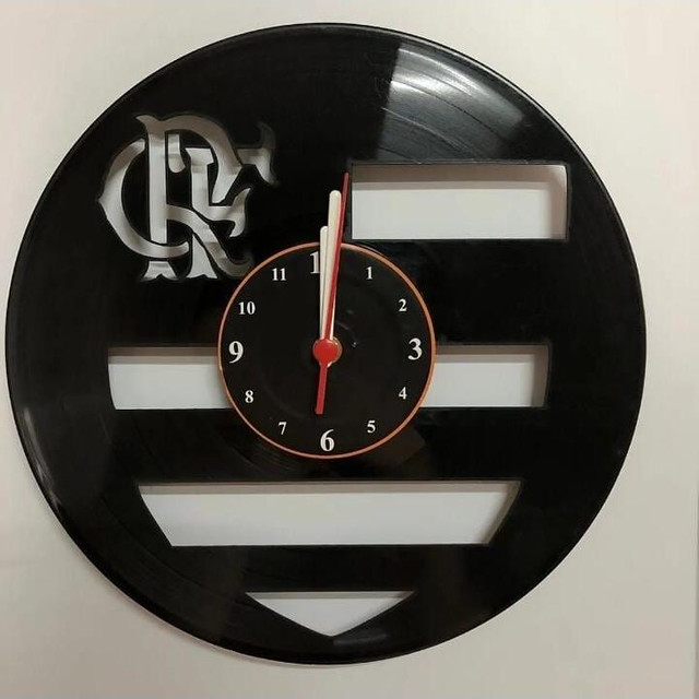 Relógio de parede vinil - Foto 3