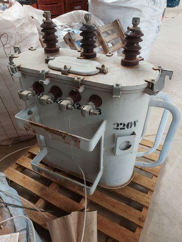Transformador 112 KVA saida 220V