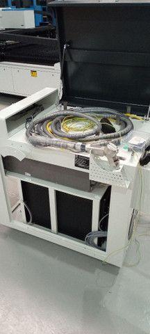 Máquina corte e solda a LASER entre outros equipamentos como dobradeira metaleira  - Foto 4