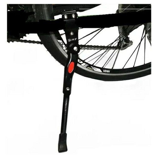 Descanso Lateral Bicicleta C/Reg. GTS Alum. Pto Aros do 24 a 29 - Foto 5