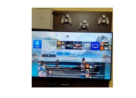 PS4- Joystick/Controle na Parede - Foto 3