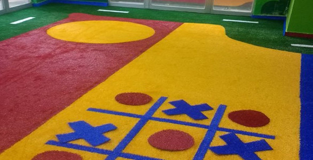 Grama Sintética Decorativa Ideal Play Colors 12mm (várias cores) - Foto 2