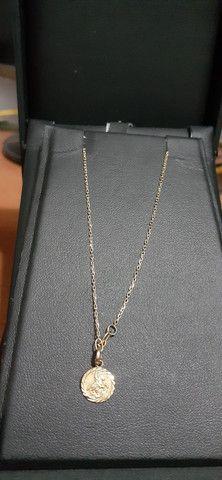 Cordão de ouro 18k 750