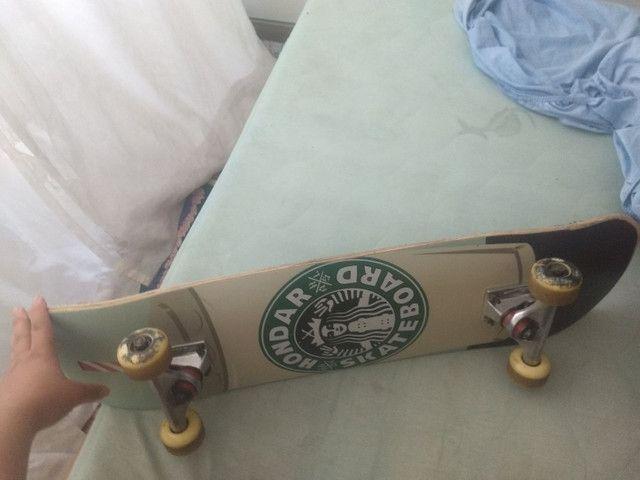 Vendo skate por 200 - Foto 2