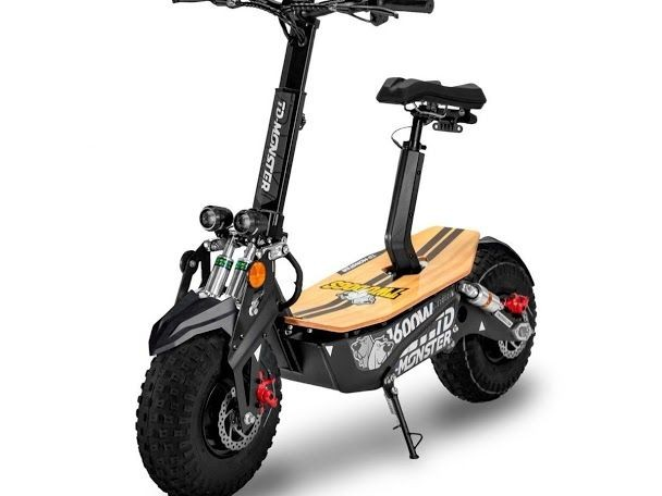Patinete Elétrico Scooter Off-Road TD-Monster 1600w Two Dogs<br><br> - Foto 2