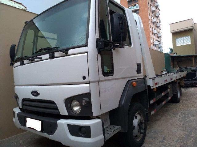 caminhão Ford Cargo 816 S 14/14 Plataforma - Foto 3