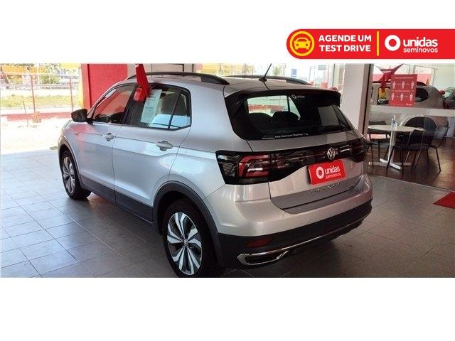 Volkswagen T-cross 2020 1.0 200 tsi total flex comfortline automático - Foto 5