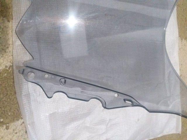 Bolha Parabrisa Fume Claro Yamaha Yzfr3 15 16 17 18 19 - Foto 5