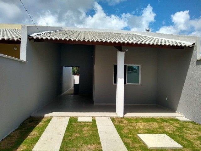 Lindas Casas no Eusébio Com Dois Quartos! - Foto 3