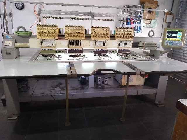 máquina de bordar(2) King Special 4 cabeças 12 cores - Foto 3