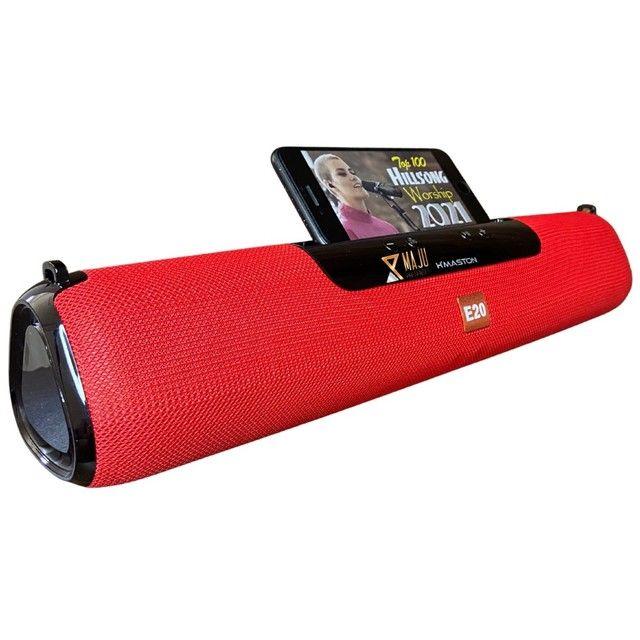 Caixa Som Alto Falante Hmaston E-20 Portátil Bluetooth  - Foto 3