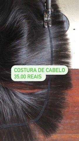 Costura de cabelo