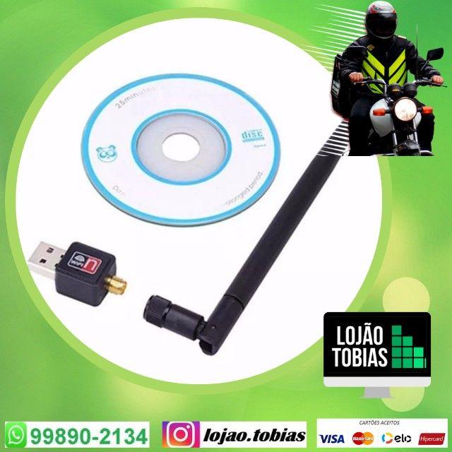 Garanta ja o seu Adaptador Antena Wifi (entrega grátis)