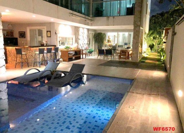 Jardins Ibiza, casa duplex Porteira Fechada, 4 quartos, 6 vagas, piscina, Eusébio - Foto 8
