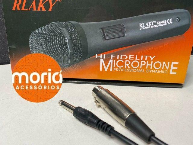 Microfone profissional dynamic RLAKY  - Foto 3