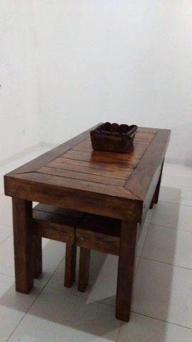 Madeira Maciça - Mesas Rústicas Produzidas sob Medida - Foto 2