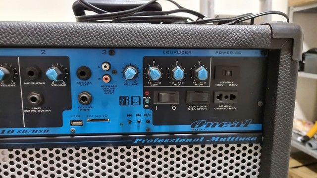 Vendo caixa amplificadora Oneal - Foto 3