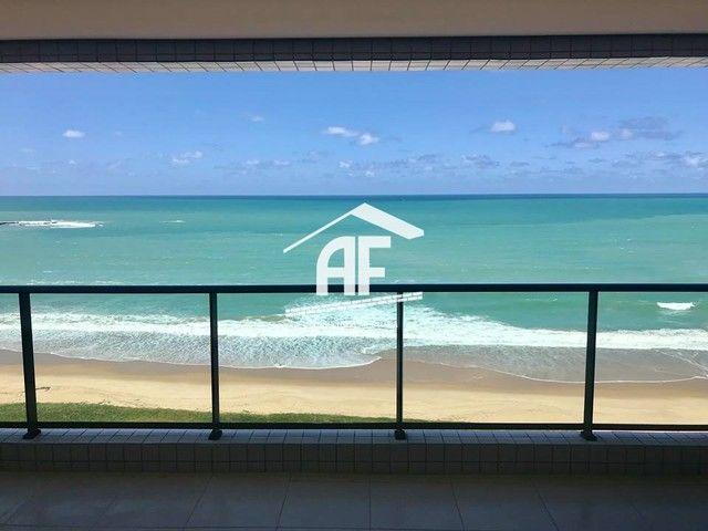 Apartamento com 4 quartos (2 suítes) - Alto padrão com vista total para o mar - Foto 2