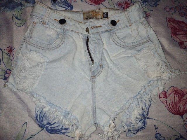 Vendo short jeans e saia jeans - Foto 4