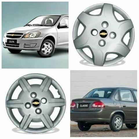Calota aro 13 Chevrolet Celta Classic