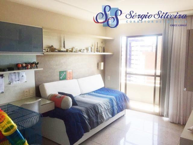 Apartamento no Meireles com vista mar e área de lazer 4 suítes na Joaquim Nabuco - Foto 11