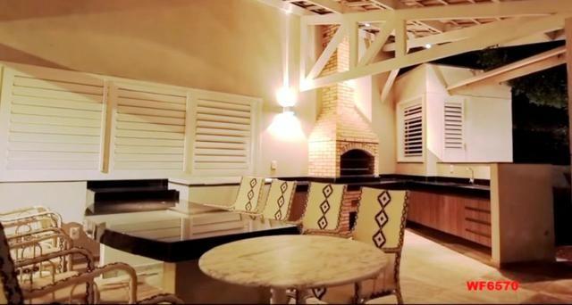 Mansão em Fortaleza, casa duplex nas Dunas, 4 suítes, gabinete, bairro de Lourdes - Foto 17