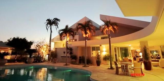 Mansão em Fortaleza, casa duplex nas Dunas, 4 suítes, gabinete, bairro de Lourdes - Foto 16