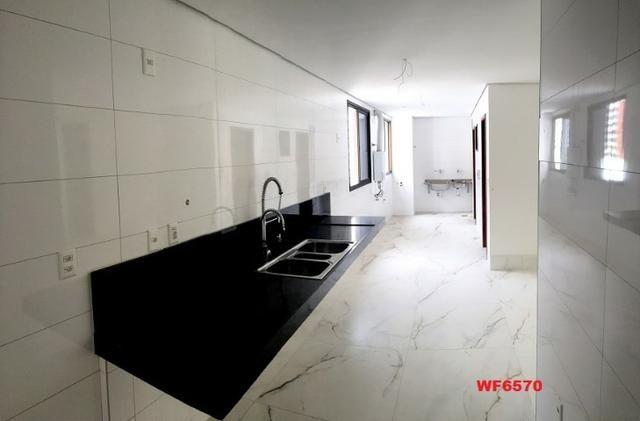 Palmares, apartamento no Meireles, vista mar, 4 suítes, 5 vagas, lazer completo - Foto 4