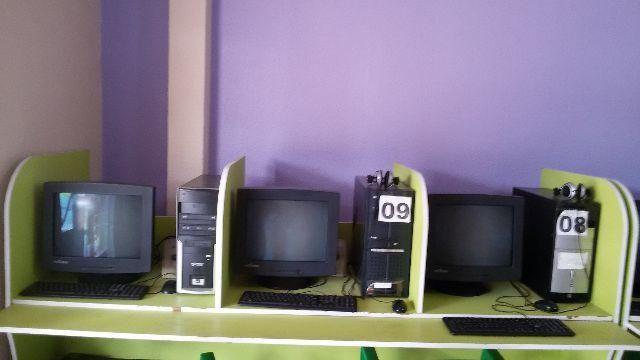 Mesa Bancada para Lan House; Computador; Imperdível
