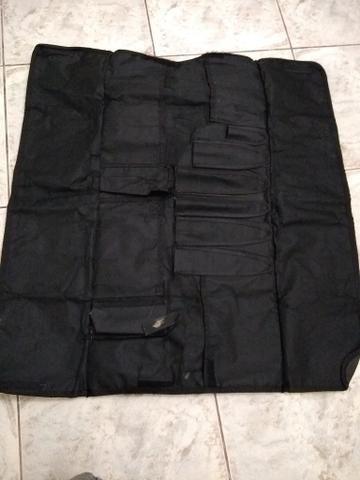 beab13786 Case de facas ( bolsa para facas) couro sintético preta - Outros ...