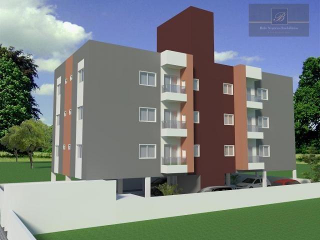 Apartamento residencial à venda, Iririú, Joinville. - Foto 3