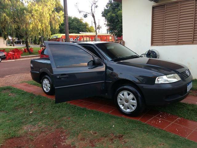 Saveiro 1.6 ap original a alcool pneus novos revisada inteira valor R$15.900