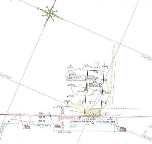 Terreno à venda, 1281 m² por R$ 281.890,00 - Estados - Fazenda Rio Grande/PR - Foto 17