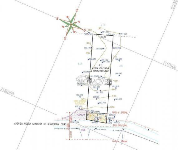 Terreno à venda, 3875 m² por r$ 412.725 - estados - fazenda rio grande/pr - Foto 9