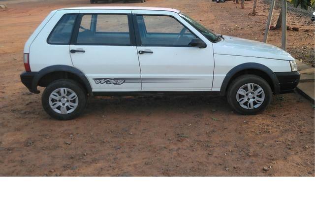 Fiat Uno Way 1.0 básico, flex ano 2010 4 portas - Foto 6