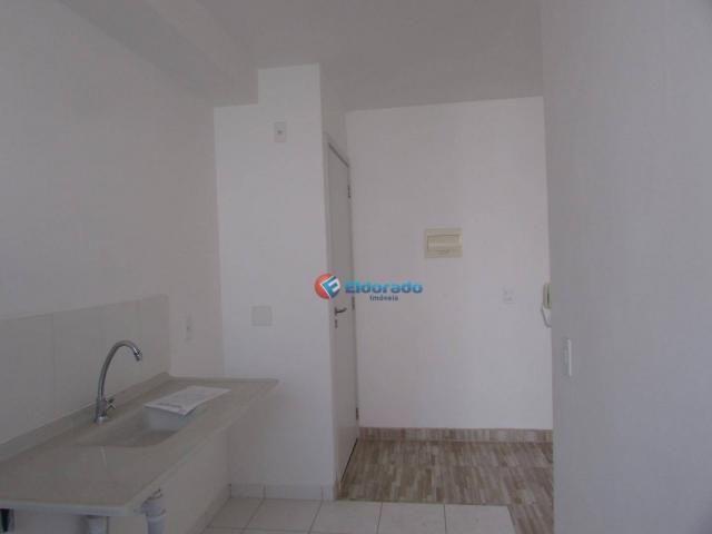 Apartamento com 2 dormitórios para alugar, 49 m² por r$ 800/mês - parque yolanda (nova ven - Foto 2