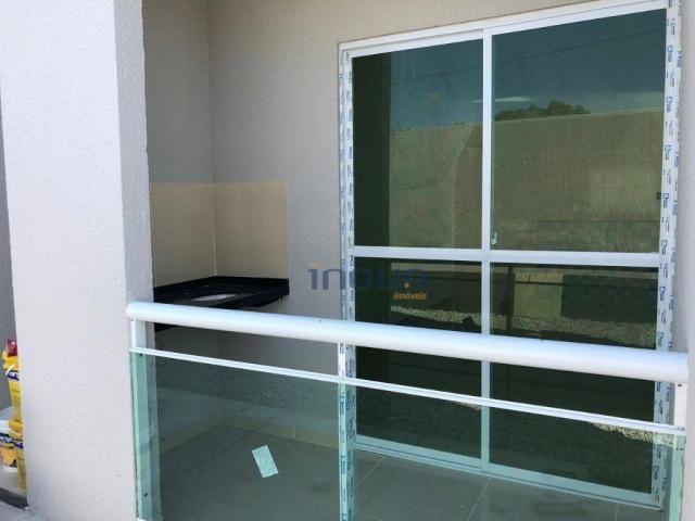 Apartamento com 2 dormitórios à venda, 54 m² por R$ 115.000,00 - Centro - Pacatuba/CE - Foto 4