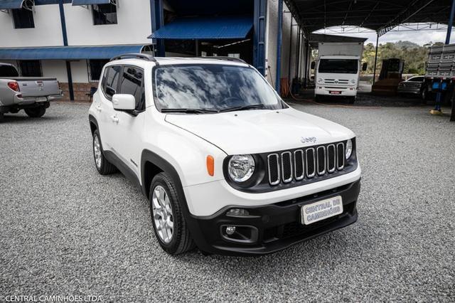 Jeep Renegade 1.8 flex Longitude Automático