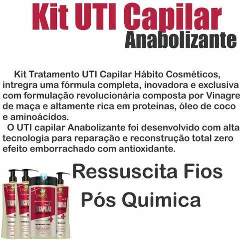 Kit Tratamento Pós Química Completo com óleo reparador - Foto 2