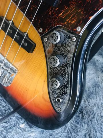 Baixo 4 Cordas Jazz Bass Series Sjb75 Sx Sunburst - Foto 5