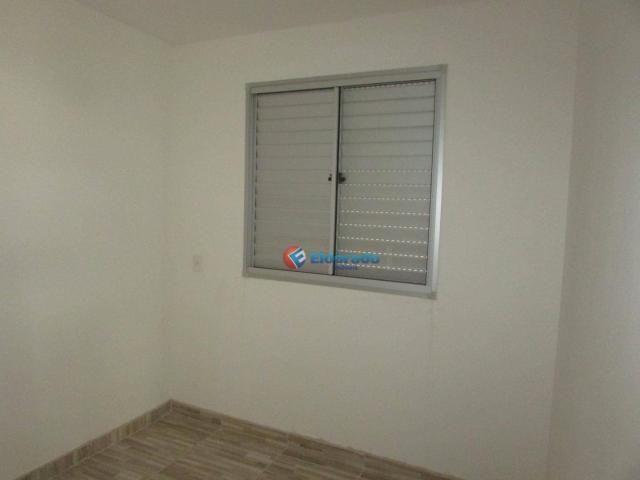 Apartamento com 2 dormitórios para alugar, 49 m² por r$ 800/mês - parque yolanda (nova ven - Foto 8