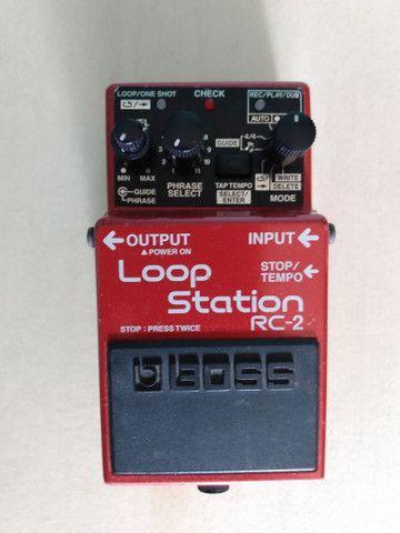 Pedal de Loop Boss Loop Station RC-2  - Foto 2