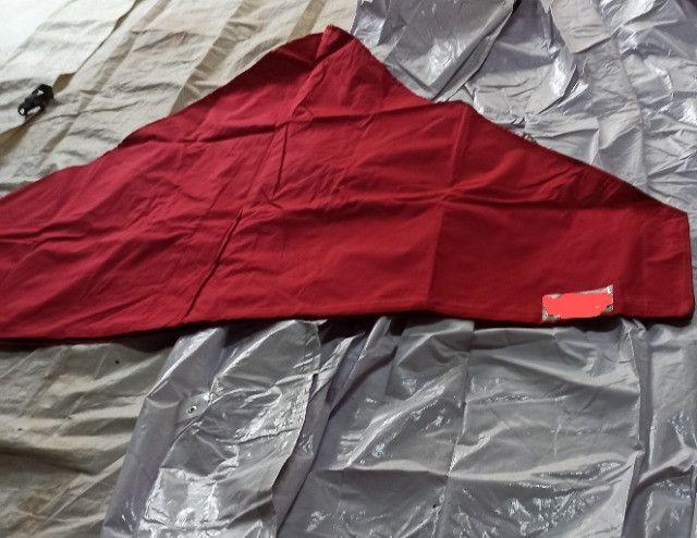 Lonas Coberturas e Laterais usadas Tendas Sanfonadas 1/1/2 e 2x2 e 3x3 e 4,50x3 e 6x3 - Foto 4