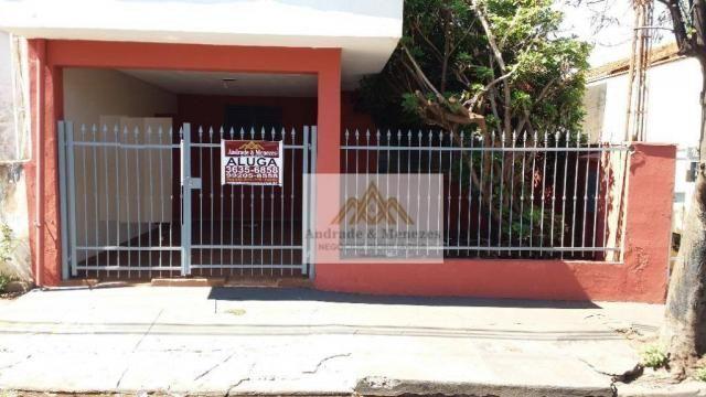 Casa com 2 dormitórios para alugar, 113 m² por R$ 1.200,00/mês - Vila Tibério - Ribeirão P