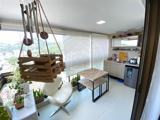 Apartamento à venda com 3 dormitórios em Rio comprido, Rio de janeiro cod:883681 - Foto 9