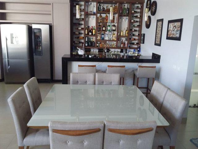 Sala de jantar quadrada de 8 lugares nova completa pronta entrega - Foto 5